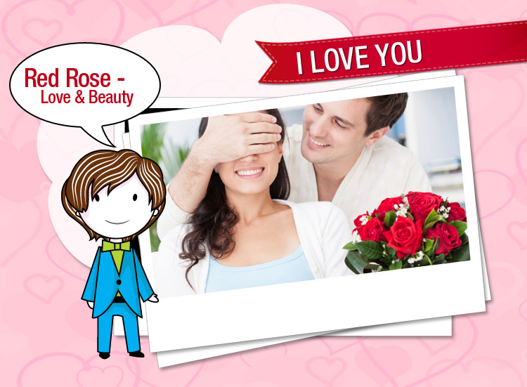 Tutu tells What Red rose says, It signifies love in all ways.