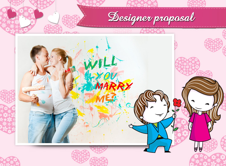 Making it a creative proposal would be a great show,it will give your love a headstart blow.