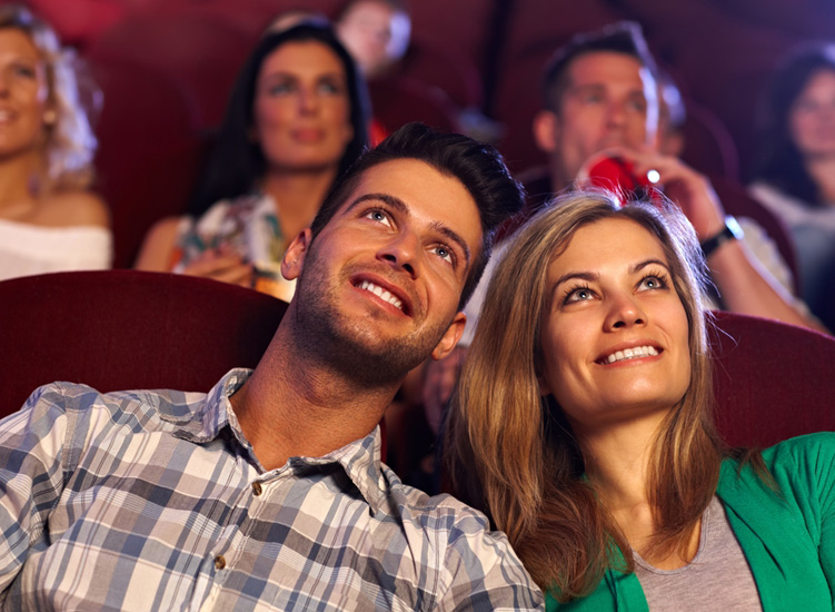 The movies that we watch together are so much like our own love story.