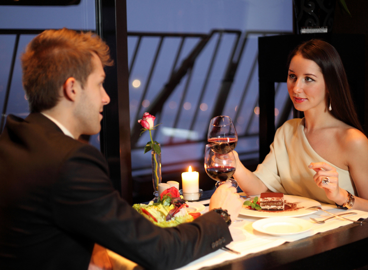 The candlelit dinners always leave a romantic feeling lingering,