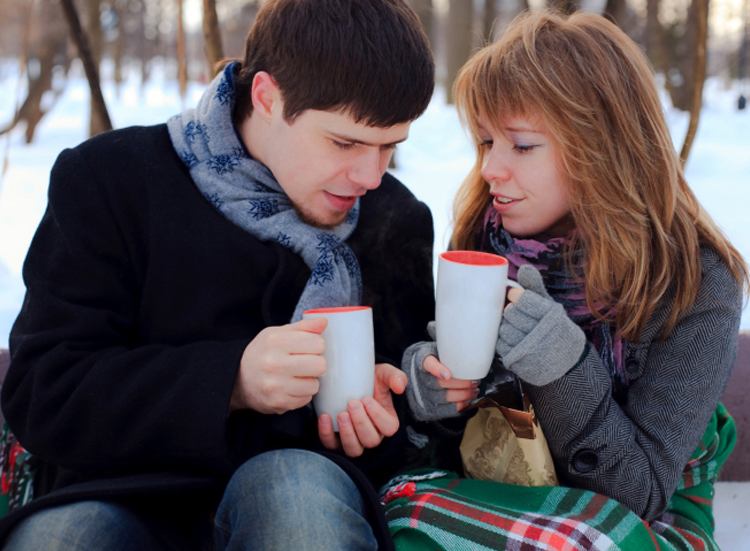 Winter, Coffee and You is my best Winter Date, it's true!