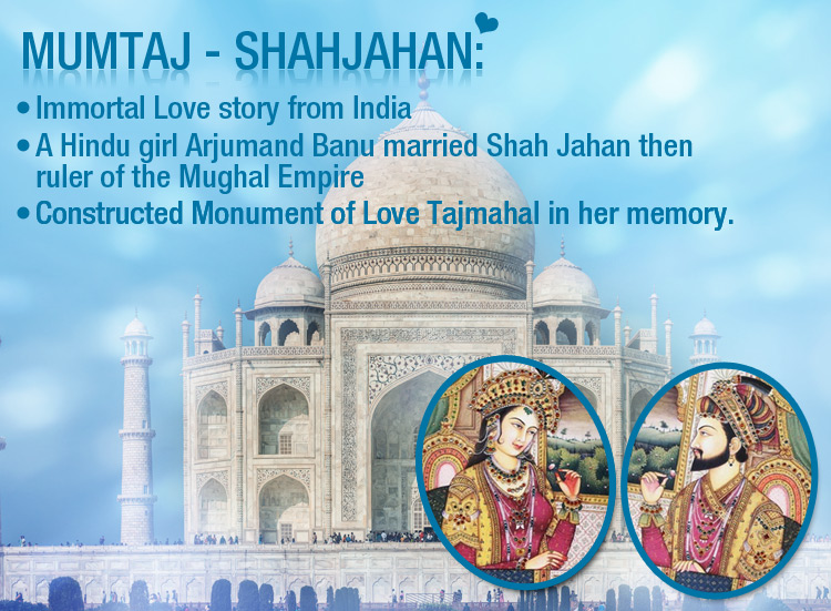 They gave Taj-Mahal an Epitome of Love, 'Mumtaz & Shahjahan an 'Unforgettable Mughal Lovestory'