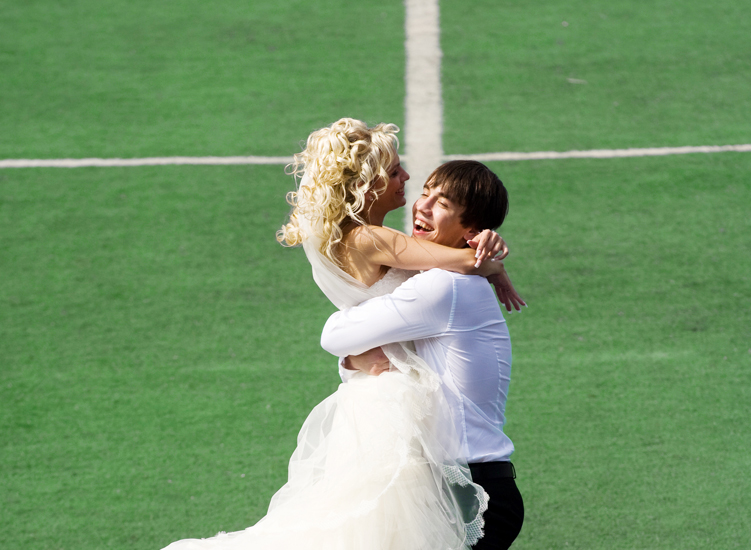 Every game in the stadium became uninteresting when our love story reached its goal,