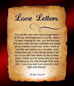how to write a letter to someone you love