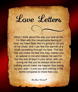 Love Letter To him