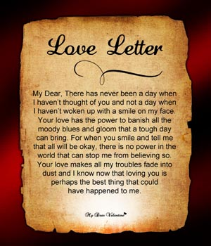 Valentine Letters, Valentine's Day Letters