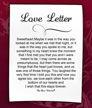 love letter to girlfriend 4
