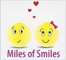 Lets walk the miles of smiles together