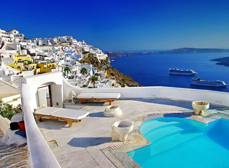 Santorini...For those magical moments that you and your partner will cherish forever!