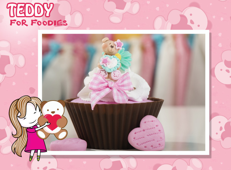 A teddy cake is love of my sweetie, make this teddy day soft & foodie.