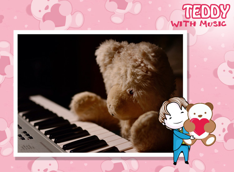 Musical Teddy makes you laugh, on Teddy day it speaks on your behalf.