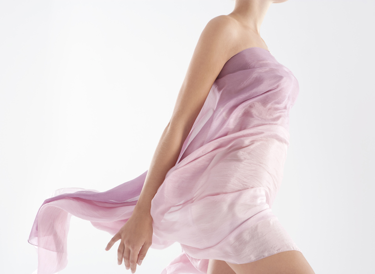 Caress him with soft silk that smoothes, it sets passion alight as it soothes...