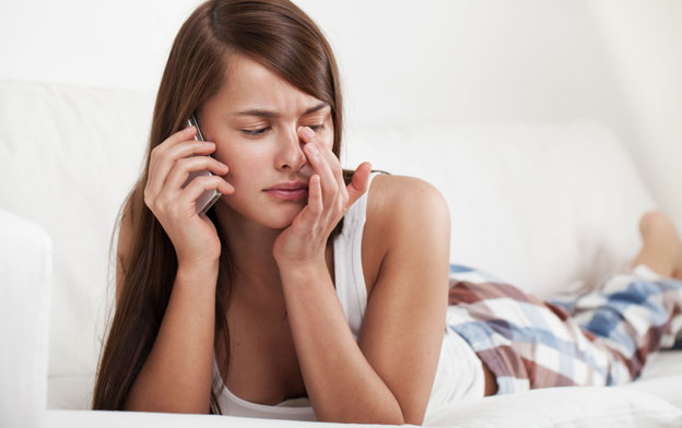 How to Break Up Over the Phone