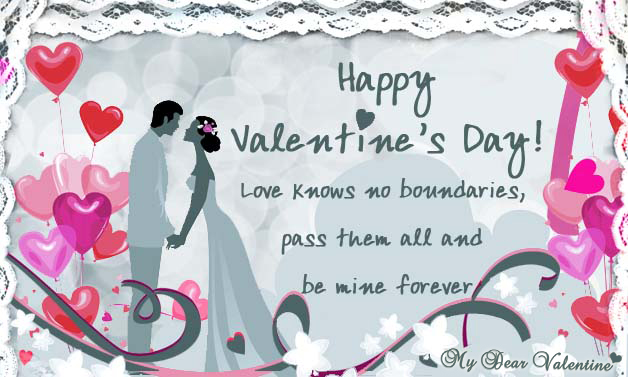 Love Knows No Boundaries - Be Mine Greeting Cards