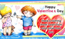 There is Nothing More I - Cute Valentine Cards