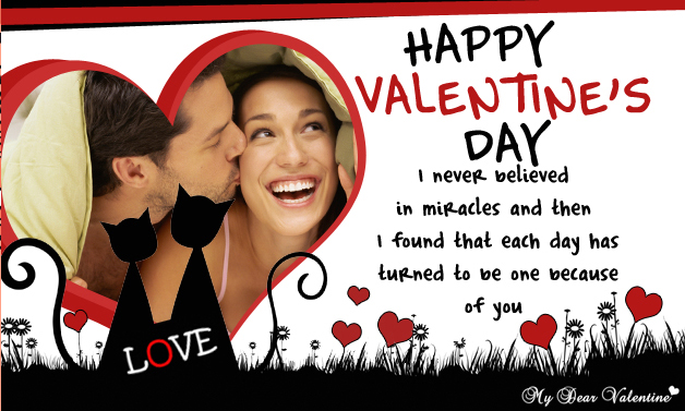 I Never Believed In Miracles - Valentine Cards
