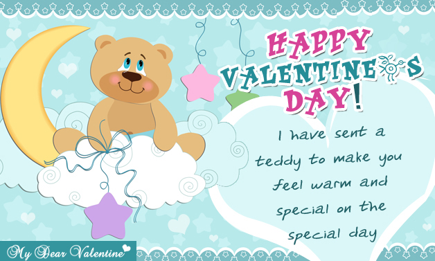 I Have Sent A Teddy To Make - Teddy Cards