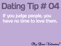 Cute love quotes - If you judge people, you