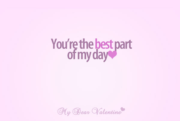 I love you quotes - You are the best