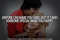 Anyone can make you smile