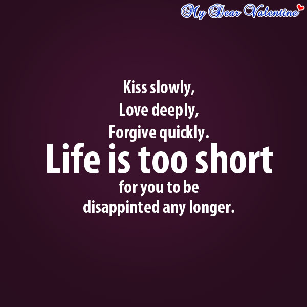 Kiss Love Quotes For Him : Love-quotes-Kiss-slowly-love-deeply.jpg