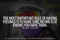 Love quotes - The most important rule