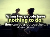 Love quotes - When two people