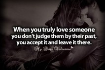 Love quotes - When you truly love