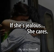Love quotes for her - If she is jealous