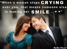 Sad love quotes - When a women stops crying