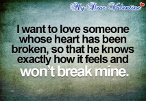 Sad love quotes - I want to love someone