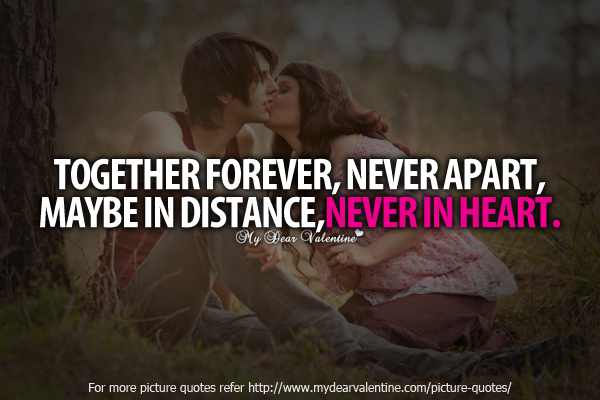 Together Love Quotes Pleasing Together Forever