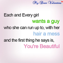boyfriend quotes - Each and every girl want