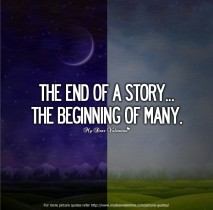 Broken Heart Love Quotes - The end of a story