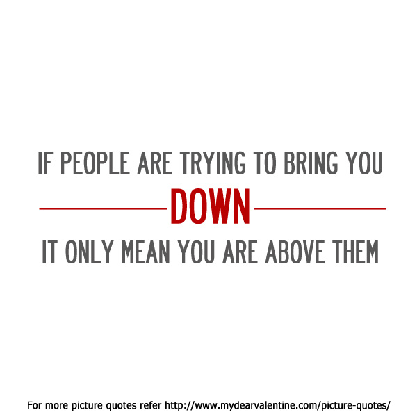 cute life quotes - If people are trying