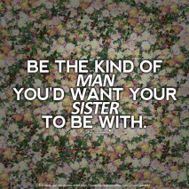 Deep Love Quotes - Be the kind of man