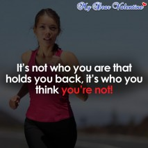 life quotes - It's not who you are