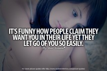 Love Hurts Quotes - Its funny how people claim