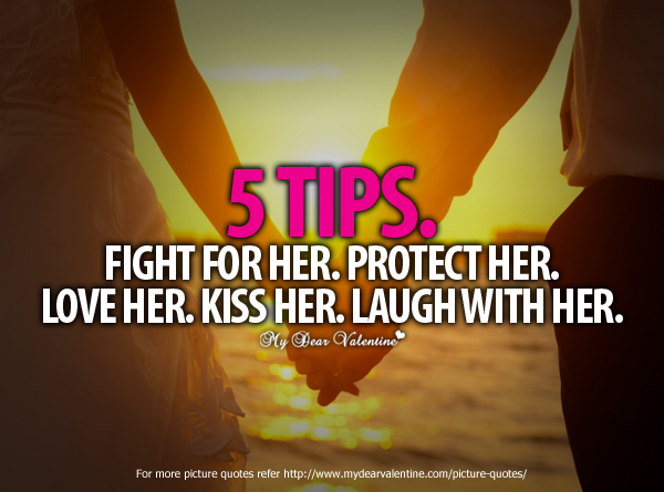 Love Quotes For Her - 5 Tips