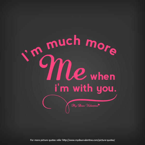 Love Quotes - I am much more