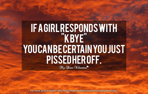 Love Quotes - If a girl responds with