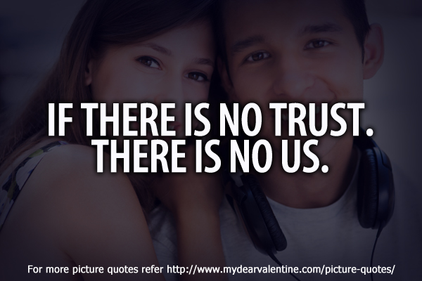 missing you quotes - If there is no trust