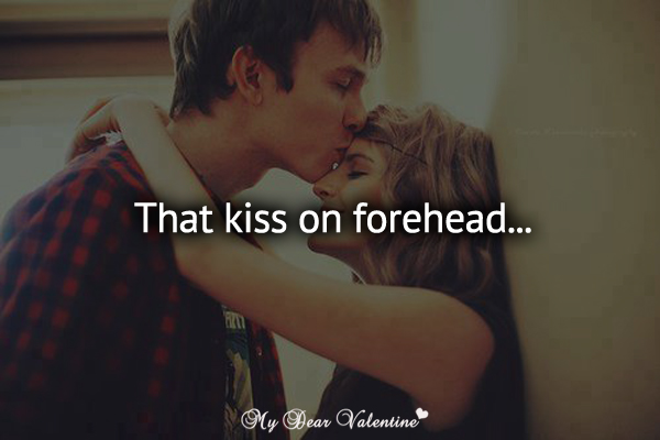 Most Romantic Forehead Kiss Images & Pictures - Becuo