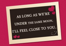 romantic quotes - I will feel close to you