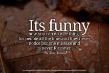 Sad Love Quotes - Its funny how you can do