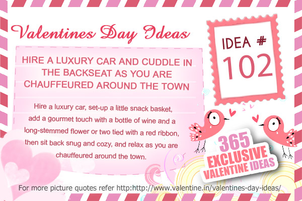 Valentine Ideas Series 102