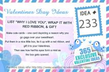 Valentine Ideas Series 233