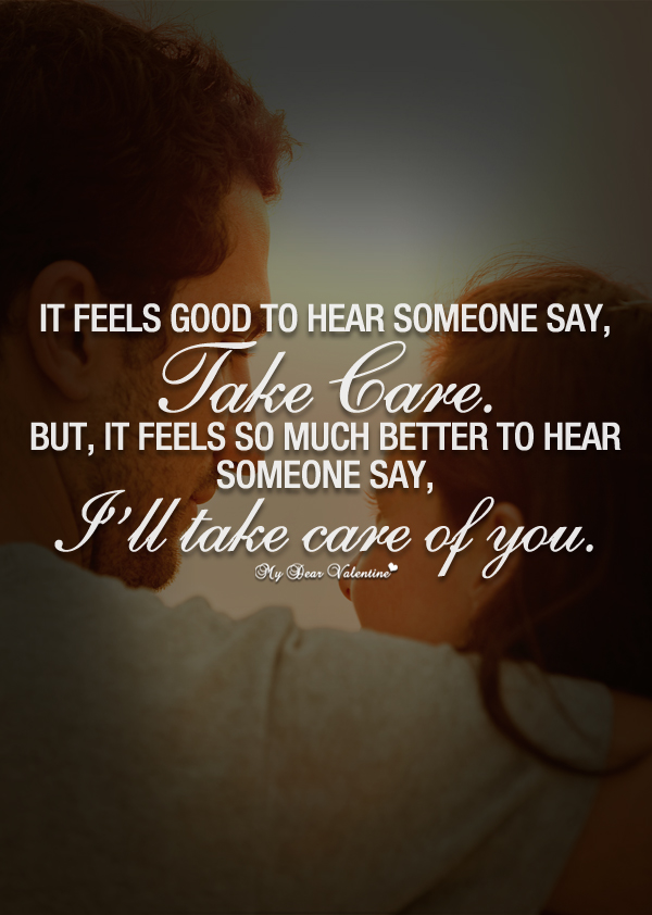 Adorable Quotes - It feels good to hear someone say