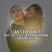 All I Want is You Quotes - I can't explain it but I just feel like