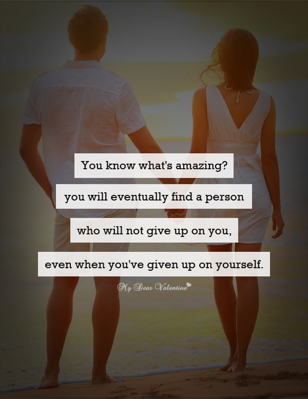 Amazing Love Quotes - You know what's amazing